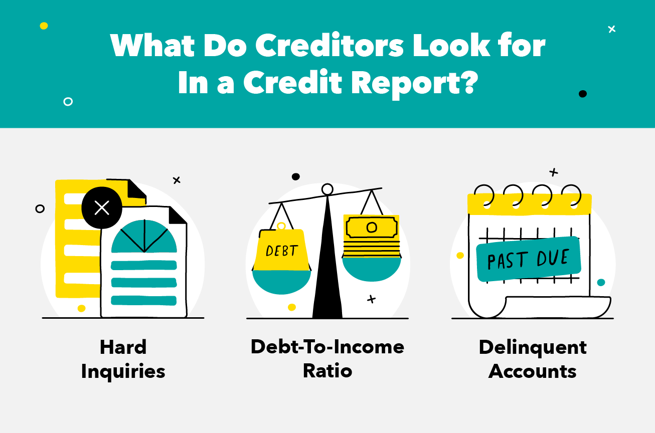 What Do Creditors Look for In a Credit Report?