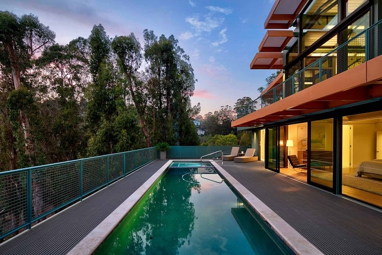 Newly-built home in Marin County, CA