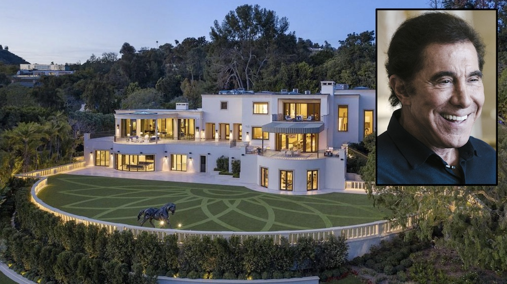 Steve Wynn Selling Beverly Hills home