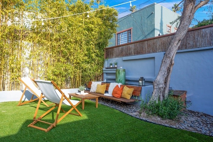 ty pennington backyard entertaining area
